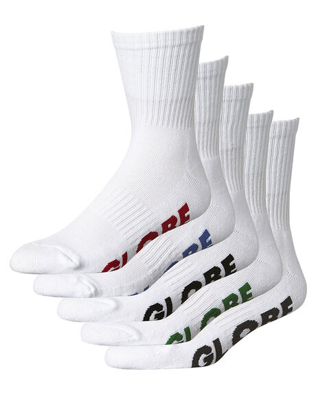 WHITE MENS CLOTHING GLOBE SOCKS + UNDERWEAR - GB71029004WHI