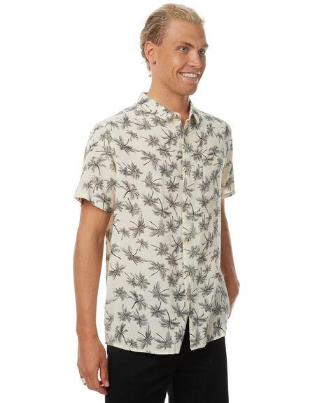 PALM WHITE MENS CLOTHING ROLLAS SHIRTS - 150843007