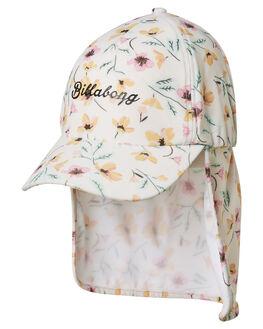 WHITE SWAN KIDS GIRLS BILLABONG HEADWEAR - 5695301WHS