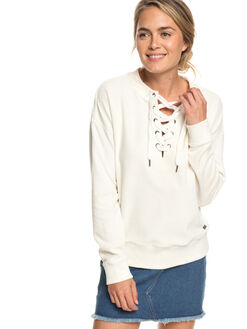 MARSHMALLOW WOMENS CLOTHING ROXY JUMPERS - ERJFT03927-WBT0