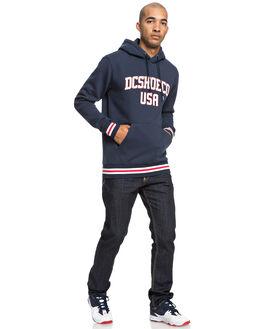 BLACK IRIS MENS CLOTHING DC SHOES JUMPERS - EDYFT03428-BTL0