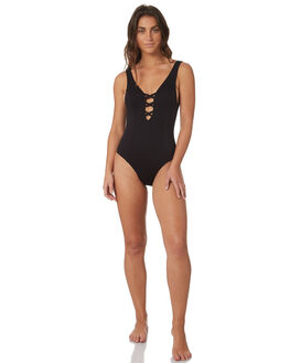 BLACK WOMENS SWIMWEAR SWELL ONE PIECES - S8184338BLACK