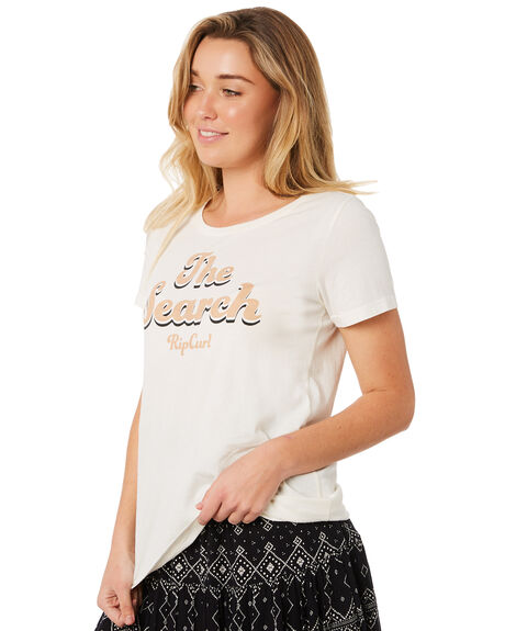 BONE WOMENS CLOTHING RIP CURL TEES - GTEVX13021