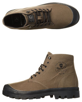ARMY BLACK MENS FOOTWEAR KUSTOM BOOTS - 4978103AARMY