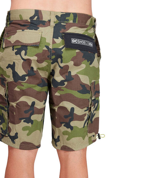 CAMO MENS CLOTHING DC SHOES SHORTS - EDYWS03135-RRP6