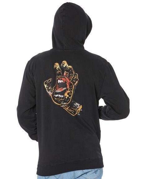 PIGMENT BLACK MENS CLOTHING SANTA CRUZ JUMPERS - SC-MFB0616PIGBK