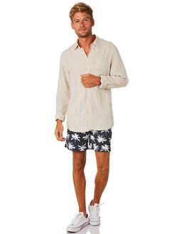 OATMEAL MENS CLOTHING ACADEMY BRAND SHIRTS - BA801OAT