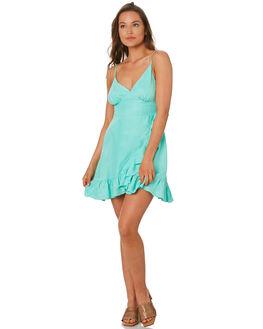 AQUA WOMENS CLOTHING TIGERLILY DRESSES - T392415AQUA