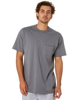 SMOKE GREY MENS CLOTHING HURLEY TEES - CJ5788080