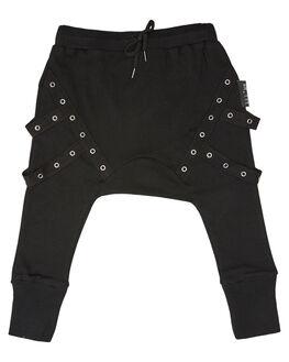 BLACK KIDS BOYS LIL MR PANTS - LM-COMMBLK