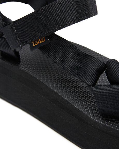BLACK WOMENS FOOTWEAR TEVA FASHION SANDALS - T1008844BLK