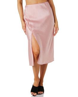 BLUSH WOMENS CLOTHING LULU AND ROSE SKIRTS - LU23801BLUSH