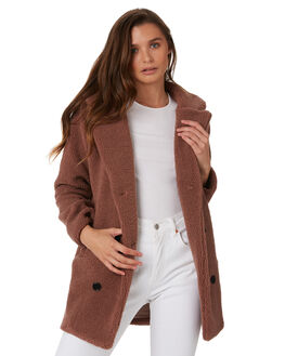 MAUVE WOMENS CLOTHING ELWOOD JACKETS - W92510O80