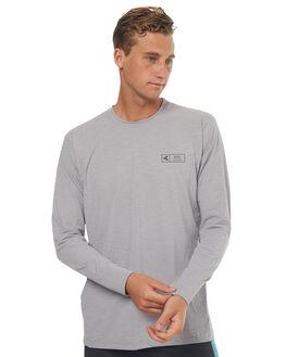 HEATHER ALLOY SURF RASHVESTS XCEL MENS - MLM62617HAL