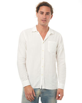 OFF WHITE MENS CLOTHING NUDIE JEANS CO SHIRTS - 140426W04