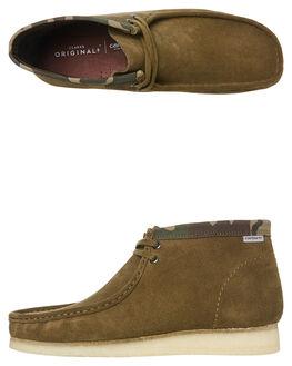 OLIVE COMBI MENS FOOTWEAR CLARKS ORIGINALS BOOTS - SS26146168OLIM