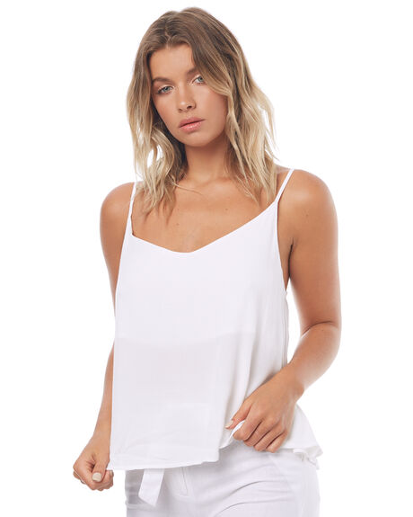WHITE WOMENS CLOTHING SWELL FASHION TOPS - S8171167WHITE