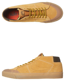 BRONZE BROWN MENS FOOTWEAR NIKE SKATE SHOES - AV3529-772
