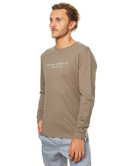 OLIVE MENS CLOTHING RHYTHM TEES - JUL17-TS08-OLI