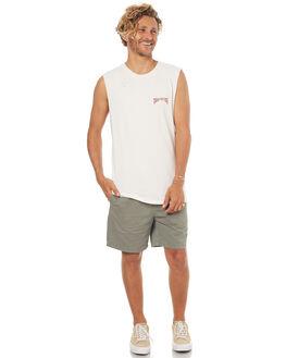 WHITE MENS CLOTHING INSIGHT SINGLETS - 5000000307WHT