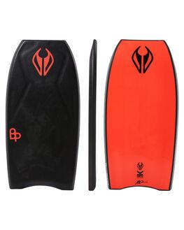 BLACK RED SURF BODYBOARDS NMD BODYBOARDS BOARDS - N18TECH42BLBLKRD