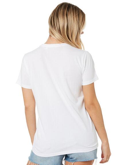 WHITE WOMENS CLOTHING RIP CURL TEES - GTEFB21000