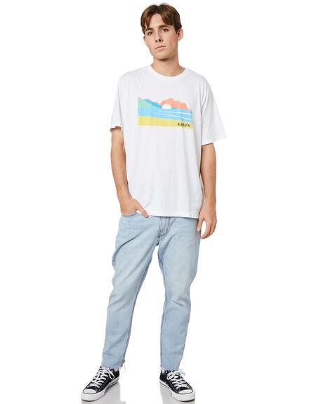 NATURE WHITE MENS CLOTHING LEVI'S TEES - 16143-0225