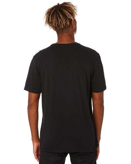 BLACK WHITE MENS CLOTHING HURLEY TEES - AH7935012