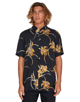 BLACK MENS CLOTHING BILLABONG SHIRTS - 9595218BLK