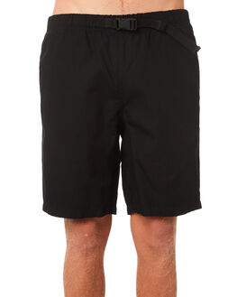 BLACK MENS CLOTHING CARHARTT SHORTS - I020592-89BLK