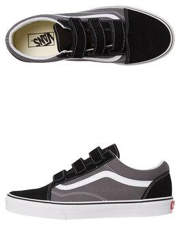 PEWTER BLACK MENS FOOTWEAR VANS SNEAKERS - VNA3D29PBQGRY