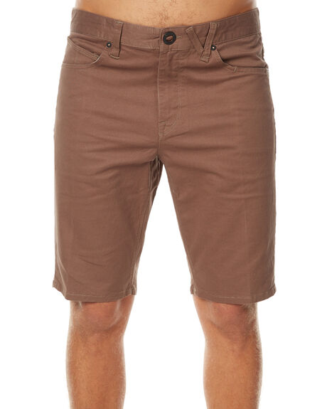 MUSHROOM MENS CLOTHING VOLCOM SHORTS - A0911708MSH