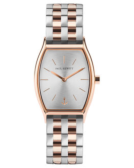 SILV SUNRAY ROSE GLD WOMENS ACCESSORIES PAUL HEWITT WATCHES - PH-T-R-SS-43SSILSU