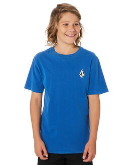 MARINA BLUE KIDS BOYS VOLCOM TOPS - C4331970MRB