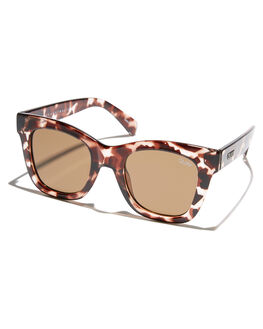 TORT BROWN WOMENS ACCESSORIES QUAY EYEWEAR SUNGLASSES - QU-000180TRTBR