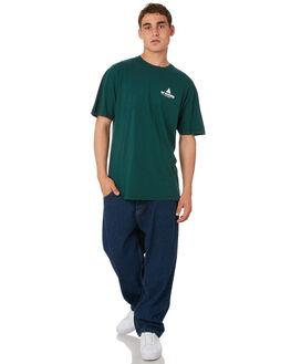 JADE MENS CLOTHING HUF TEES - TS00387-JADE