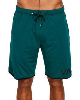 DARK TEAL MENS CLOTHING RVCA SHORTS - RV-R371313-D58