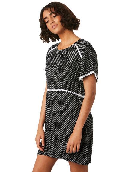 BLACK COMBO WOMENS CLOTHING VOLCOM DRESSES - B1341875BLC