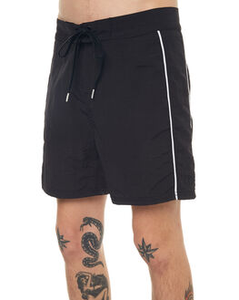 BLACK MENS CLOTHING NO NEWS BOARDSHORTS - N5171235BLACK