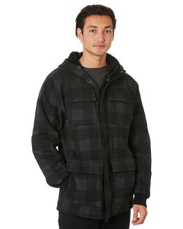 DARK CHARCOAL MENS CLOTHING VOLCOM JACKETS - A5812000DCR