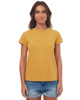 HONEY MUSTARD WOMENS CLOTHING BILLABONG TEES - 6572142HONEY