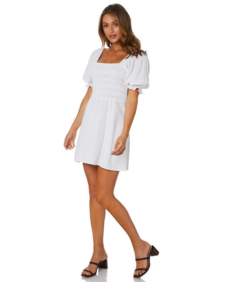WHITE OUTLET WOMENS RUE STIIC DRESSES - AS-20-07-2-W3-L-W3