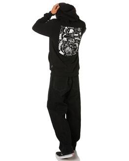 BLACK MENS CLOTHING VOLCOM JUMPERS - A4131912BLK