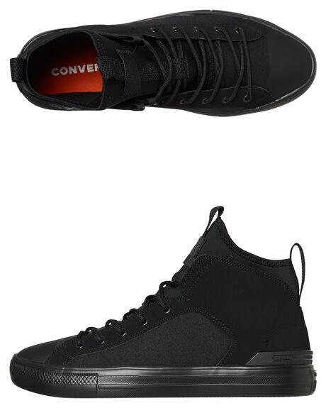 BLACK BLACK MENS FOOTWEAR CONVERSE SNEAKERS - 162378BKBK