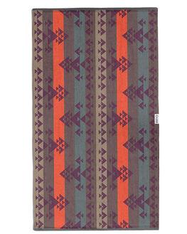 BROWN WOMENS ACCESSORIES LEUS TOWELS TOWELS - 01JWBOBRBRN
