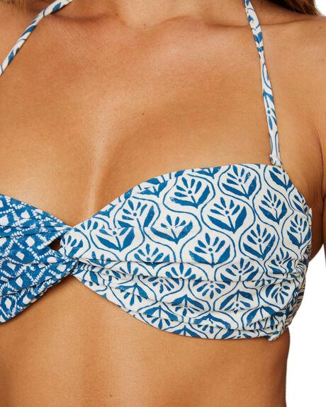 BIJOU BLUE WOMENS SWIMWEAR TIGERLILY BIKINI TOPS - T515176U00