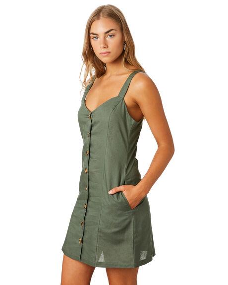 KHAKI WOMENS CLOTHING ELWOOD DRESSES - W93730350