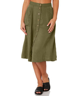 BASIL WOMENS CLOTHING RHYTHM SKIRTS - JUL19W-SK02BAS