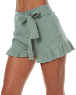 SAE WOMENS CLOTHING MINKPINK SHORTS - MP1706432SAGE