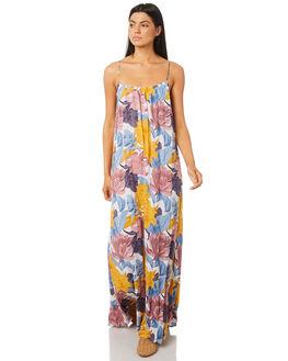 MULTI WOMENS CLOTHING RUSTY DRESSES - DRL0949MTI